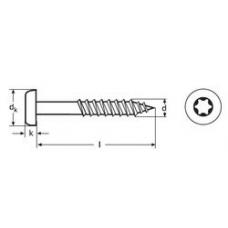 Шуруп WS 9117 для древесно-стружечных плит